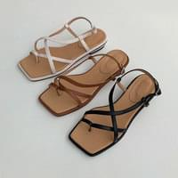 Recommended carry cross sandals for short girls