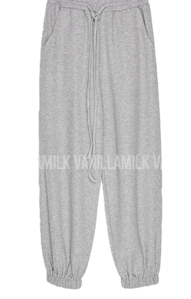 Training knit jogger trousers