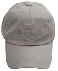 Dana lettering embroidered ball cap