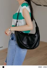 Piping Accent Shoulder Bag