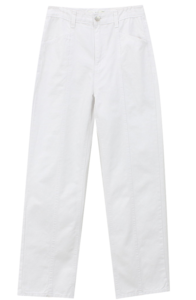 line white trousers