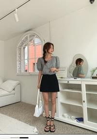 Ayu Ready Two Button Skirt