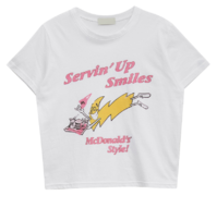 smile character t-shirt