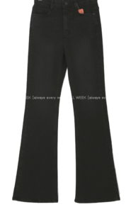 Tall women pants vol.286 * not Spandex the band Fleece-lined Flared