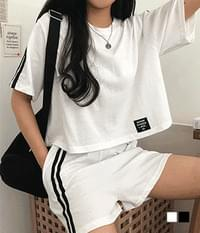 Second Patch Training Homewear Two-Piece Set