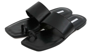 billy band flat sandals