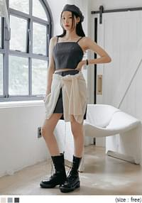 Cropped Sleeveless Top