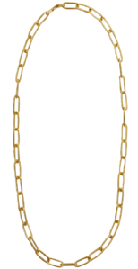 mood chain metal necklace