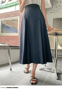 only one stitch long skirt