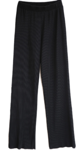 cast wide pleated pants