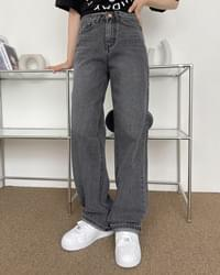 One-Way Daily Wide Denim Pants
