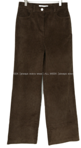 French * Corduroy Wide Pants