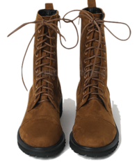 Clash Lace-Up Worker Boots