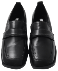 square angle basic loafers