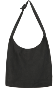 Knotted Strap Cotton Tote Bag