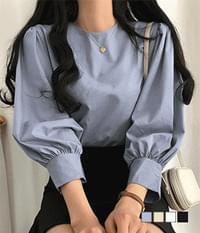 with me puff blouse