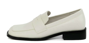brad square penny loafers