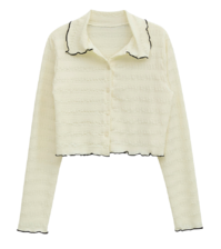 lily cropped blouse