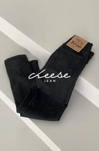 Cheese jean (functional fabric to prevent color transfer)