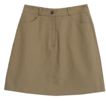 And Other Cotton Mini Skirt