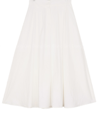 Big Size 26-32 Inch Youth Banding Flare Long Skirt