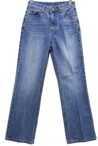 Recycled loom Flared jeans
