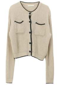 Bookle Color-matching Cardigan
