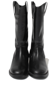 round middle western boots