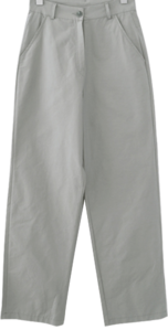 clean straight mute pants