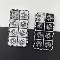 Coco Flower Push-Pop Solid Silicone iPhone Case