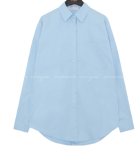 Loose Fit Button-Down Shirt