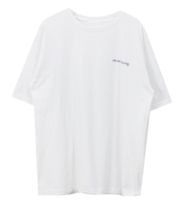 We-are Lettering T-shirt