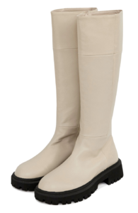 round toe two-way toe boots