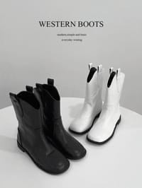 Ring Western Boots
