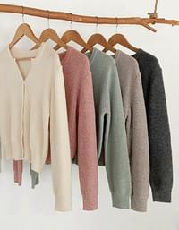 Soft Touch Hachi Open Knitwear Cardigan