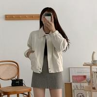 Cansemi cropped zip jacket