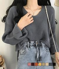 Aid Hachi Loose-fit Knitwear
