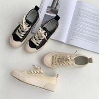 Recommended for short girls Monday canvas sneakers