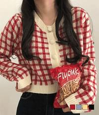 Fresh and thick cardigan