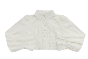 whit back off-strap blouse