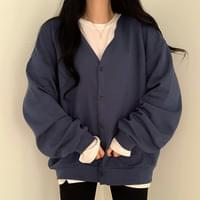 Affordable overfit cardigan
