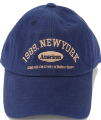 New York Embroidered Lettering Ball Cap