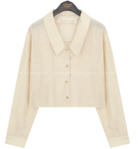 Chelsea Collar Cropped Blouse