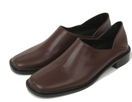 square toe loafers
