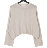 Pvel Loose-fit Fit Basic Striped Knitwear