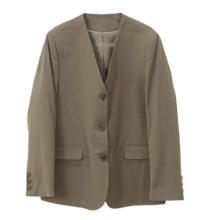 From No-collar Jacket