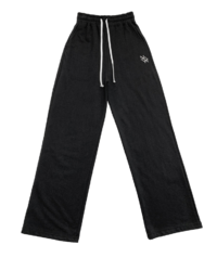 Hopper-embroidered training pants