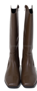 Groove V Line Square Long Boots