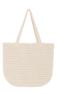 Knit Oversized Tote Bag