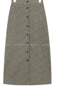 Ditsy Floral Long Skirt